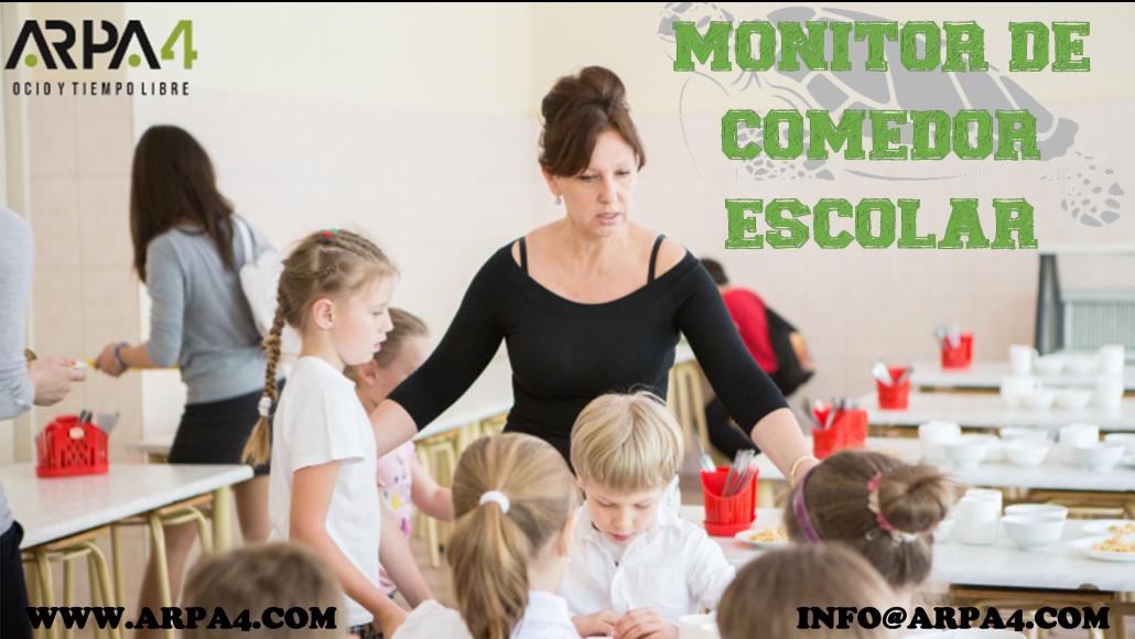 Curso de Monitor y Monitora de Comedor Escolar - ARPA4